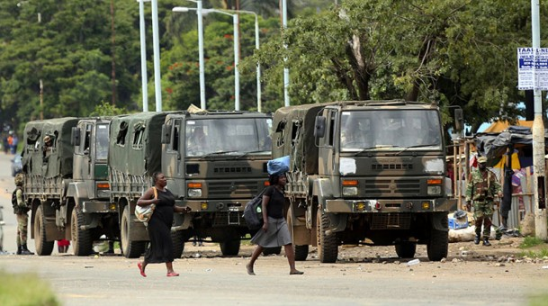 Zimbabwe implodes, bullets fired after fuel hike