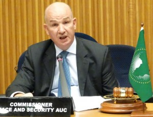 AUC Commisionner for Peace and Security, Smail Chergui