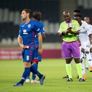 SuperSport United captain Dean Furman unfairly shown red card against Bidvest Wits match