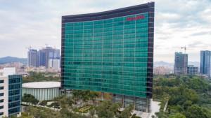 Huawei headquarters in Shenzhen, China