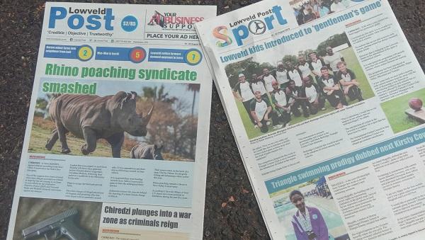 Inaugura Lowveld Post newspaper edition hits Chiredzi streets