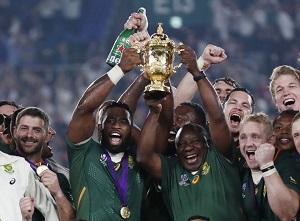 Sponsors salute world champs Springboks for uniting SA