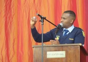 Sergeant Jason Rhoda, Stellenbosch Football Club's Multichoice Diski Challenge (MDC) coach. Photo, CAJ News Africa