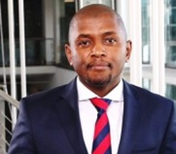 Vodacom Business Managing Executive for Cloud, Hosting and Security, Mr Kabelo Makwane.