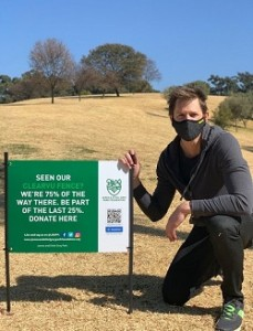 ClearVu Fence official in solidarity with Johannesburg City Parks