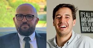 Bottles app founders Vincent Viviers and Enrico Ferigolli