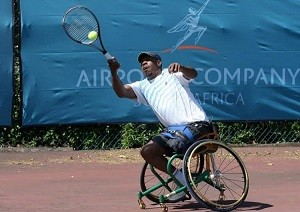 Tennis South Africa (TSA) Wheelchair Tennis Development Officer, Patrick Selepe