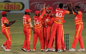 Zimbabwe's Chevrons cricket squad bask in glory following victory over Pakistan