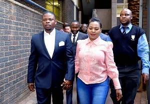 Prophet Shepherd Bushiri and wife Mary