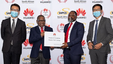 Huawei spends R7 million in SA bursaries