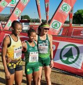 Jet lagged Ethiopia star rules SA tracks