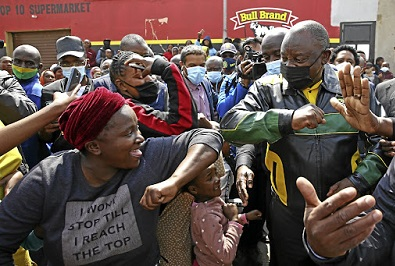 Soweto a hostile campaign ground for ANC
